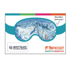 Load image into Gallery viewer, Chamonix Mont Blanc Wipeout Map
