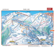 Load image into Gallery viewer, Flims Laax Falera Wipeout Piste Map