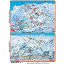 Load image into Gallery viewer, Jungfrau Ski Region Wipeout Piste Map