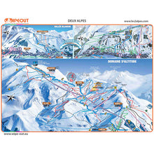 Load image into Gallery viewer, Les Deux Alpes Wipeout Map