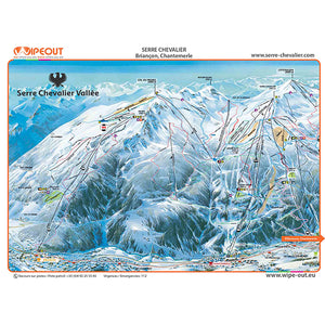 Serre Chevalier Wipeout Map