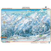 Load image into Gallery viewer, Serre Chevalier Wipeout Map