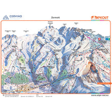 Load image into Gallery viewer, Zermatt Cervinia Wipeout Map