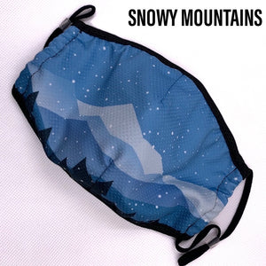 MOUNTAIN Microfibre Masks