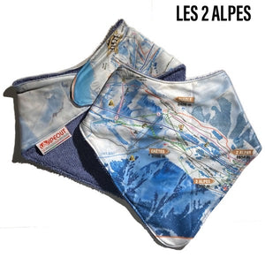 Baby Bandana Bib - Various Resort Maps