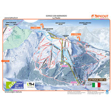 Load image into Gallery viewer, la Thuile la Rosiere Wipeout Map