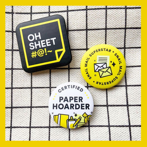 PaperCon PH Button Pin Set