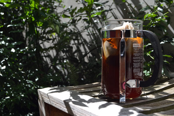 Filtered cold brew coffee