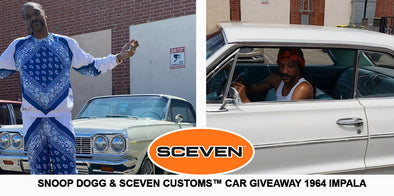 Snoop Dogg is Giving Away a '64 Impala Lowrider
