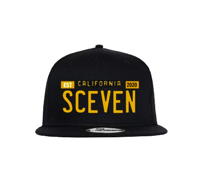 Sceven License Plate Hat  <br> 15 Entries
