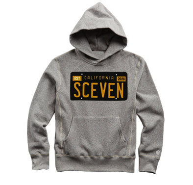 Sceven License Plate Hoodie <br> 60 Entries