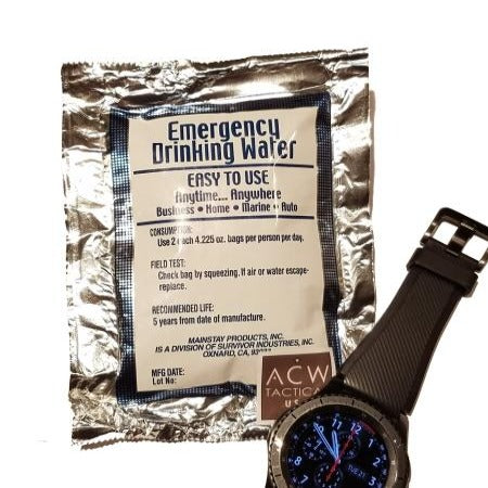 eod edc emergency water h20 preparedness