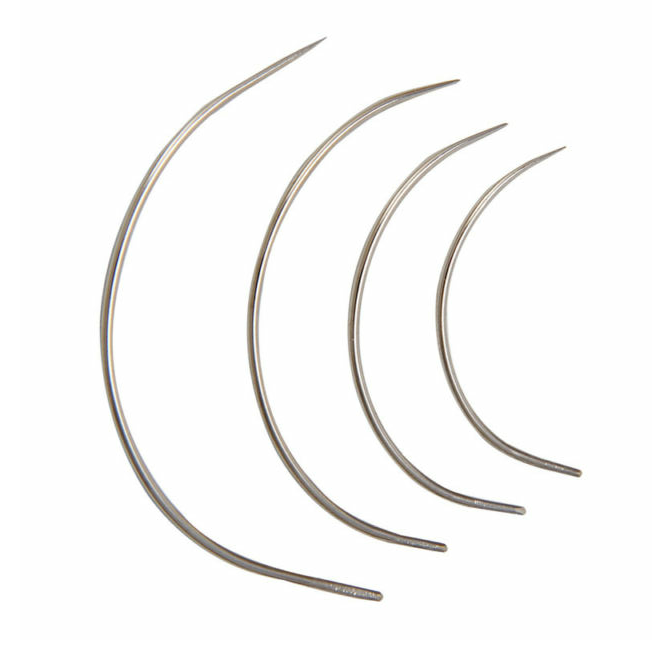 curved needles acw items