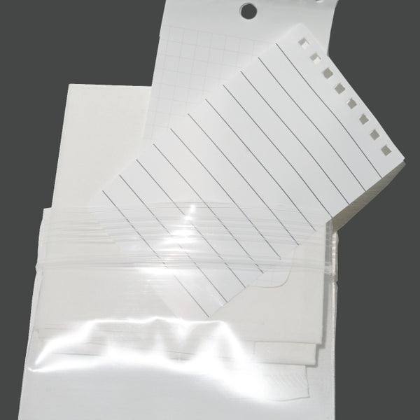 paper kit, filter cone, water proof paper