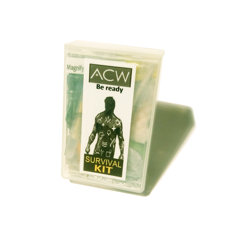 acw cutom made survival kit
