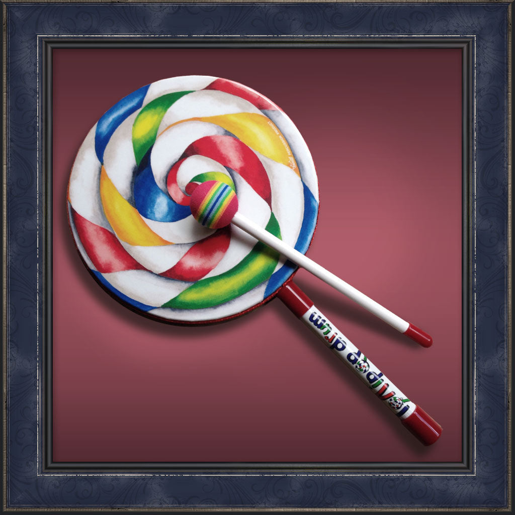"Lollipop Drum 8"" inch"