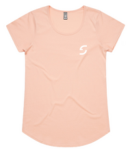 Load image into Gallery viewer, WOMEN'S SHDLCK TEE - PALE PINK