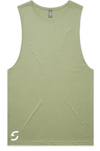 Load image into Gallery viewer, MENS SHDLCK TANK - PISTACHIO