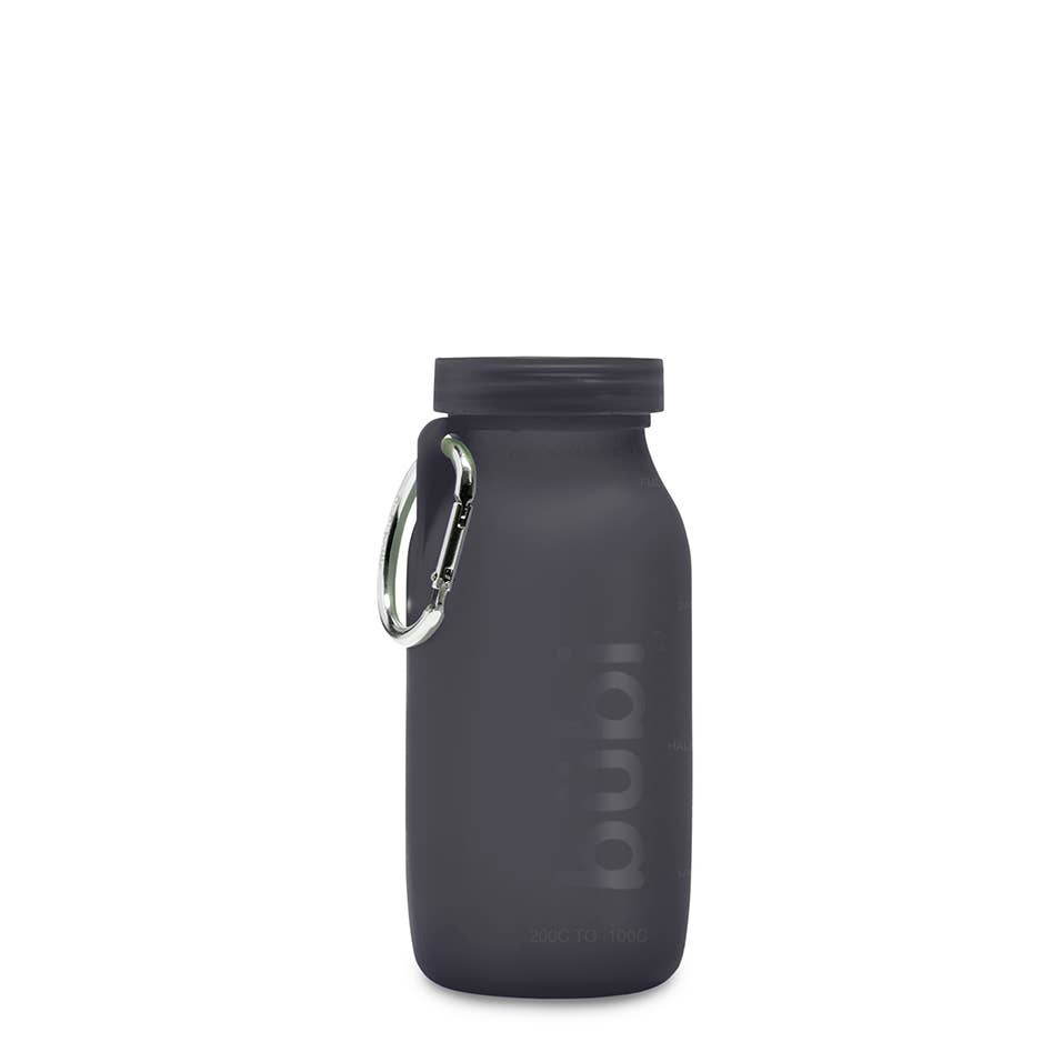 Bubi Collapsable Water Bottle - 14oz Graphite