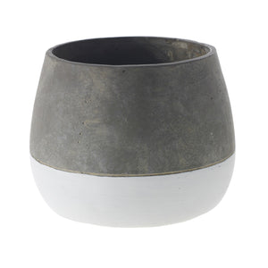 Ash Grey Ceramic Pot