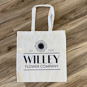 Willey Flower Company Farmer's Market Tote