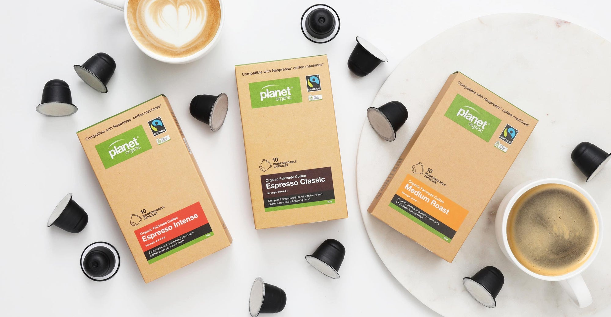 New Fairtrade coffee capsules