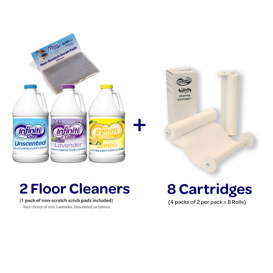 Refill Bundle #2 [Choice of 2 floor cleaners]