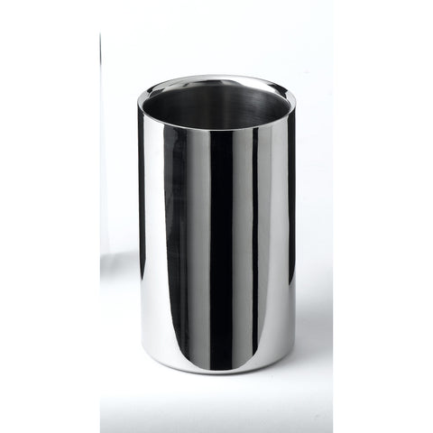 Polished Stainless Steel Wine Cooler