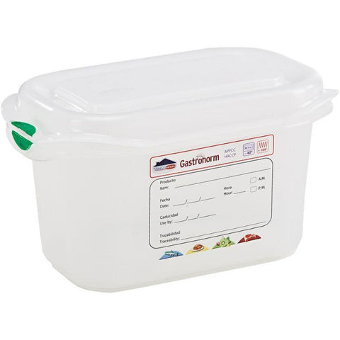 GN Storage Container 1/9 100mm Deep 1L