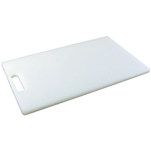 White Low Density Chopping Board 10 x 6 x 0.5""