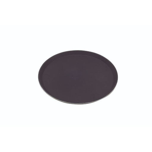 "Tray Gengrip Fibreglass Round 16"" Black"