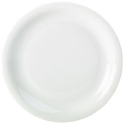 Porcelain Narrow Rim Plate 22cm/8.5""