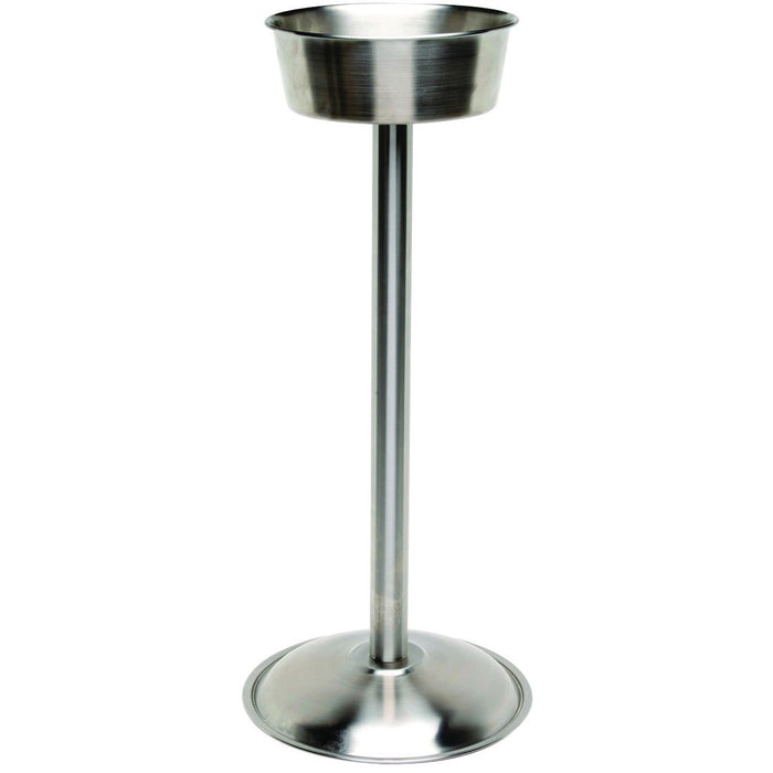 S/St. Wine Bucket Stand (Satin) 18""
