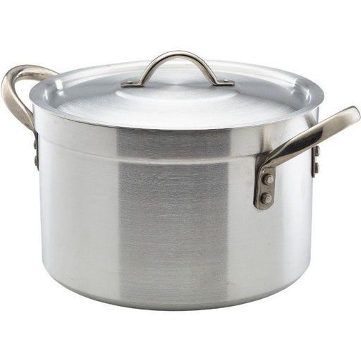 Heavy Duty Aluminium Stewpan With Lid 24.5Litre