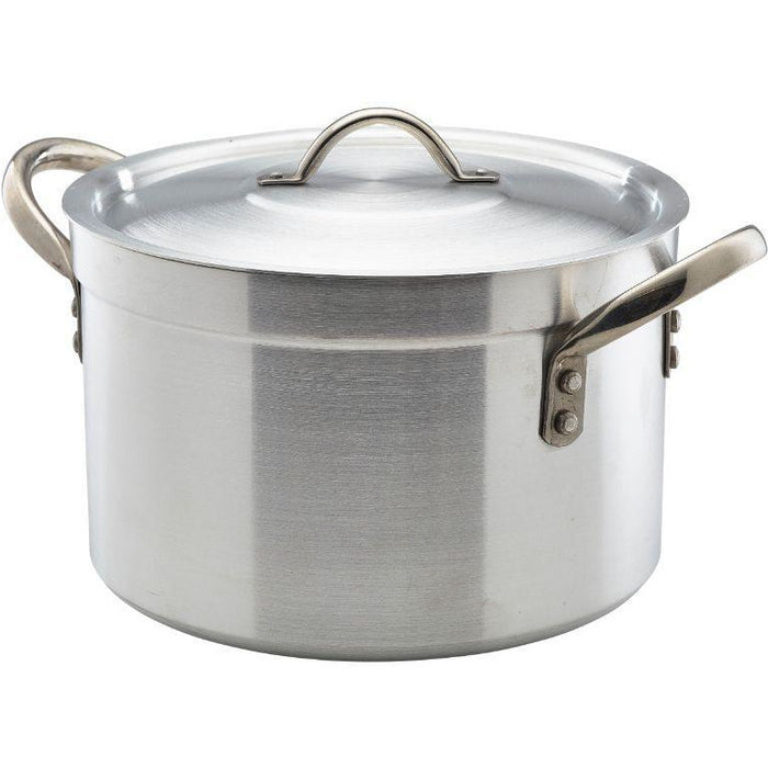 Heavy Duty Aluminium Stewpan With Lid 34Litre