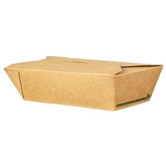 Brown Kraft Biodegradeable Leakproof Container No 6A (25oz)
