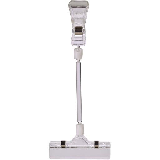 Display Clip Long Adjustable Arm(Pk 5) 21.5X8cm