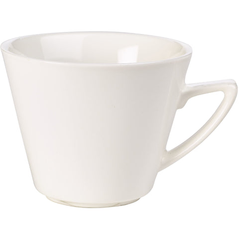 Fine China Modern Angled Handled Cup 22cl/8oz