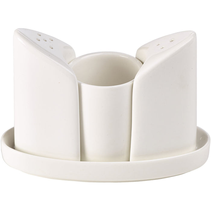 Fine China 4 Piece Condiment Set