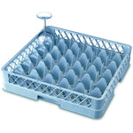 36 Comp Glass Rack With 2 Extenders