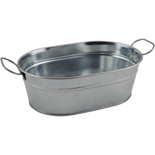 Galvanised Steel Serving Bucket 23 x 15 x 7cm