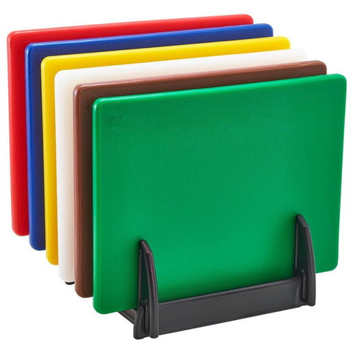 Low Density Chopping Board And Rack Set 12 x 9 x 0.5""