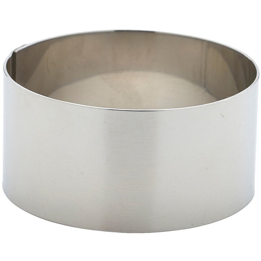 Stainless Steel Mousse Ring 7x3.5cm