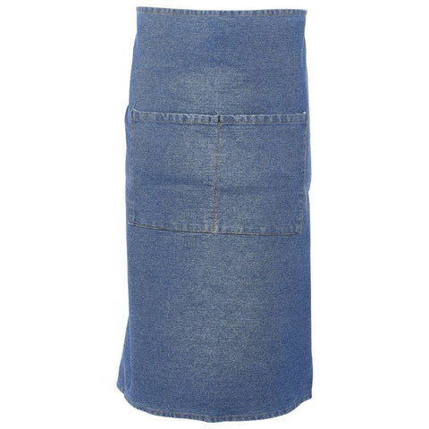 Washed Denim Waist Apron 90 x 70cm