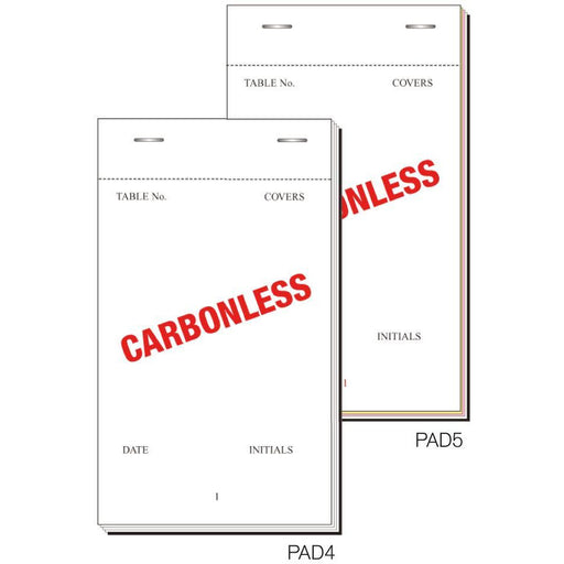 Order Pad 50 Sheet Trip Ncr 165X95mm Box 50