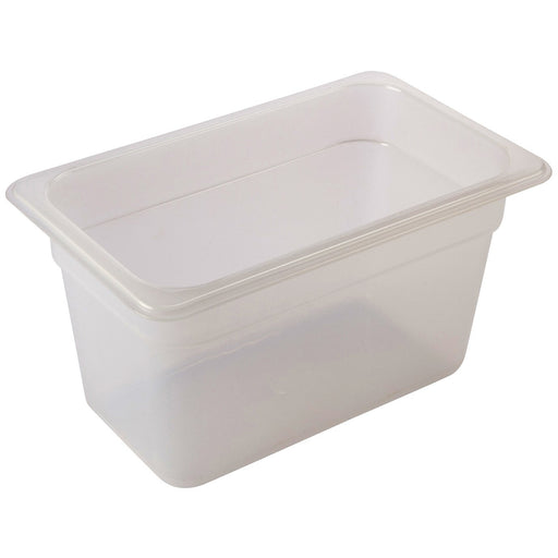 GN12-Polypropylene GN Pan 100mm Clear