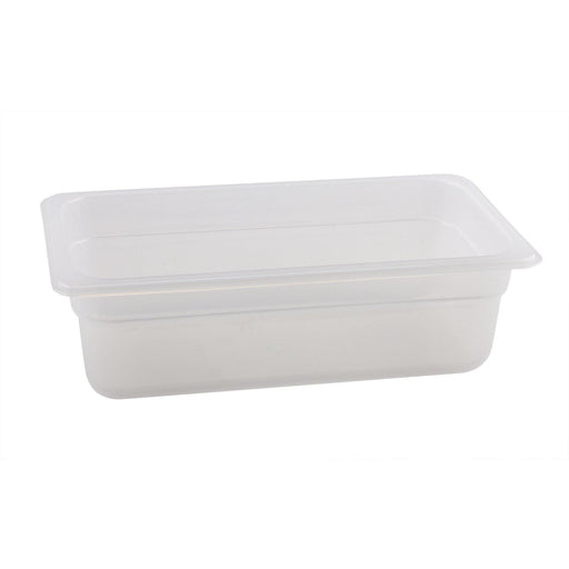 1/3 -Polypropylene GN Pan 100mm Clear