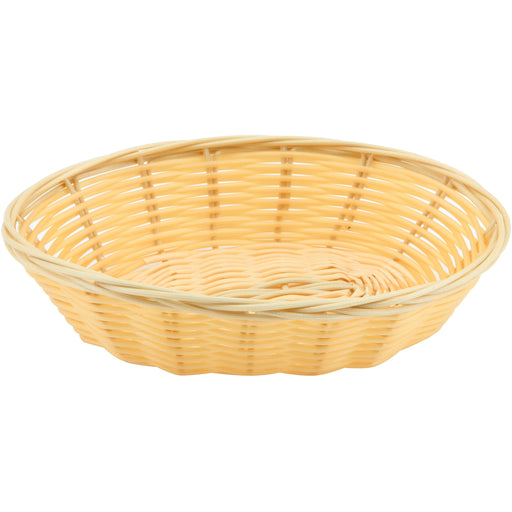 "Oval Polywicker Basket 7""X5""X2"""