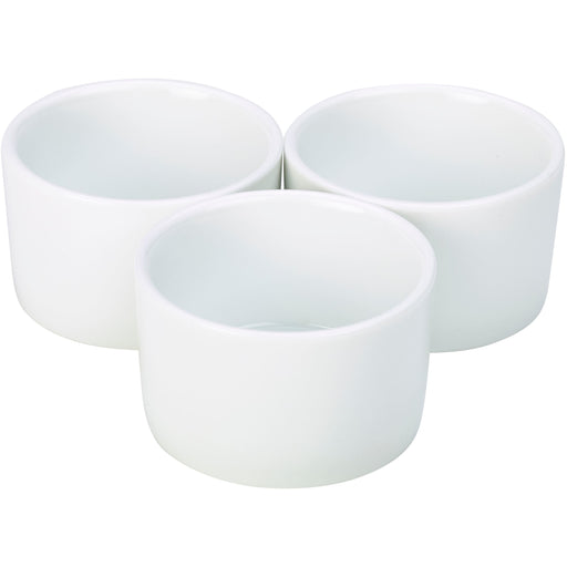 Poreclain Contemporary Smooth Ramekin 8cm/3""