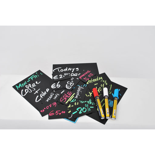 20 Price Tags A8 + 1 White Chalkmarker